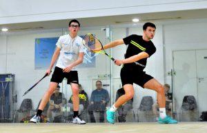 Matt Gregory squash player sponsored by dentisan